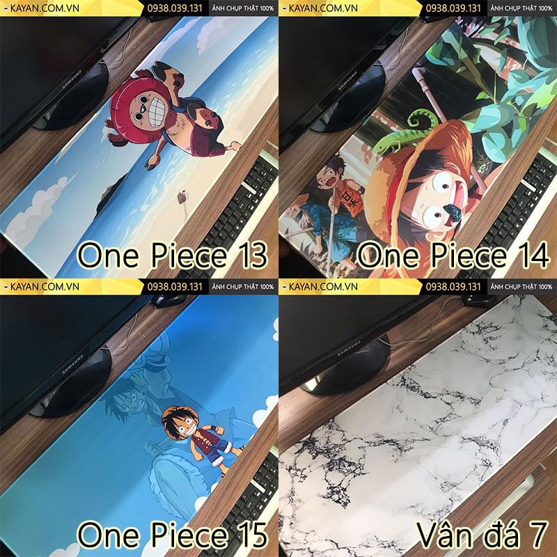 [Nhập mã ELMI01 giảm 10%][80x30x0.4] Miếng Lót chuột, bàn di chuột cỡ lớn One Piece – Vân đá – nhiều mẫu Giá chỉ 50.000₫