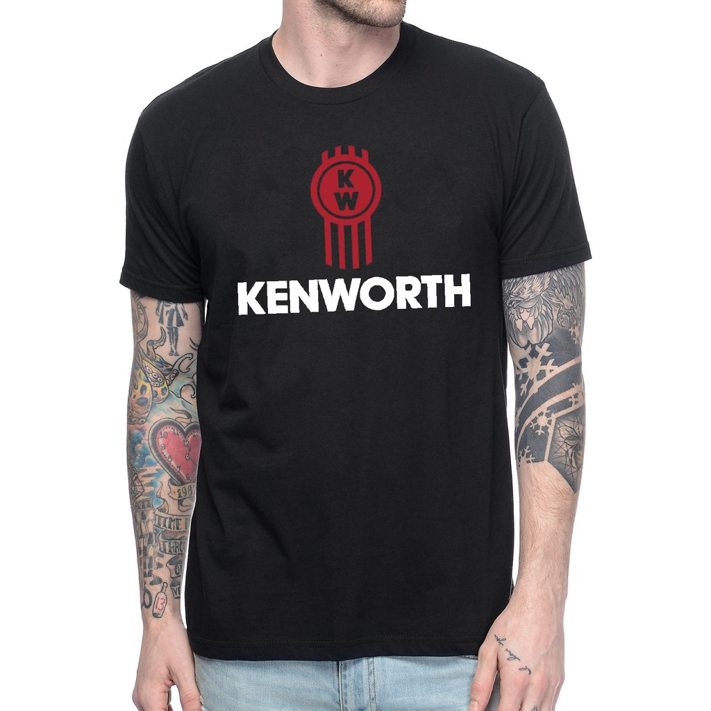 Men'S Classic Kenworth Truck Logo Tee Shirt Top Clothing Father's Day Gift