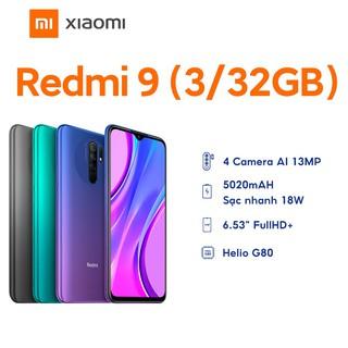 Hình ảnh Điện Thoại Xiaomi Redmi 9 3GB/32GB - Hàng Chính Hãng-0