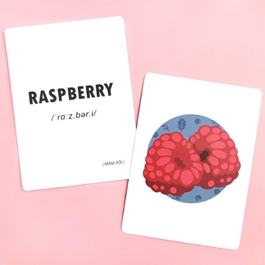 Flashcards - Bộ thẻ học Tiếng Anh theo chủ đề cho trẻ 6-10 tuổi