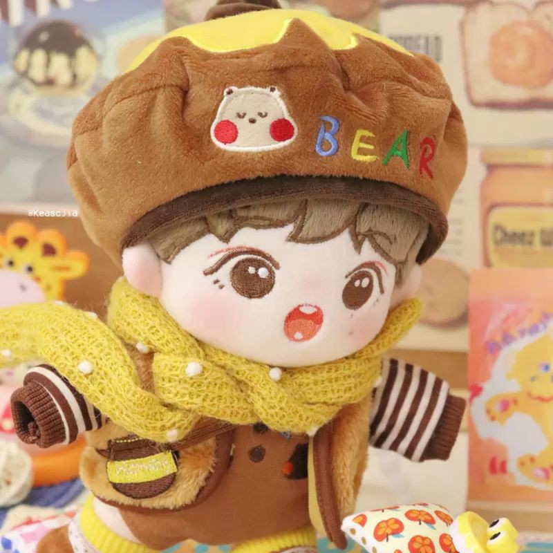 Outfit doll 15/20cm Gấu Mật Ong (46)