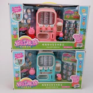 Bộ đồ chơi máy bán nước tự động-Heo Peppa pig dễ thương thumbnail
