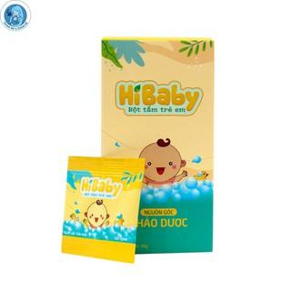 Bột Tắm Trẻ Em HIBABY Bột Tắm Cho Bé Giảm Rôm Sảy, Dịu Nhẹ, An Toàn Gói dùng thử thumbnail