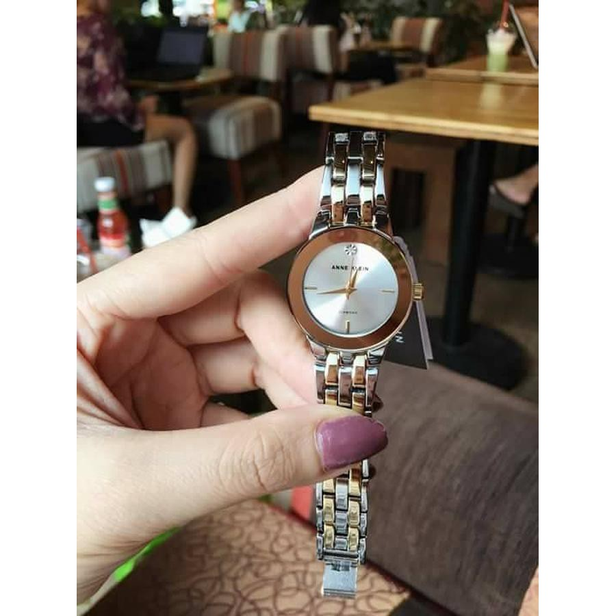 Đồng Hồ nữ Anne Klein AK/1931SVTT Diamond-Accented Dial Two-Tone Bracelet Watch - 22152221 , 1586705861 , 322_1586705861 , 2550000 , Dong-Ho-nu-Anne-Klein-AK-1931SVTT-Diamond-Accented-Dial-Two-Tone-Bracelet-Watch-322_1586705861 , shopee.vn , Đồng Hồ nữ Anne Klein AK/1931SVTT Diamond-Accented Dial Two-Tone Bracelet Watch