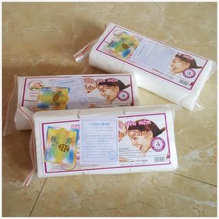 Combo 6 gói khăn vải khô không dệt đa năng Hiền Trang siêu mềm cho bé 170g