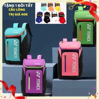 [Ưu đãi] Balo thể thao cầu lông Yonex BP008 chuyên dụng cầu lông, nhỏ gọn, tiện lợi, nhiều ngăn, mẫu mã đa dạng