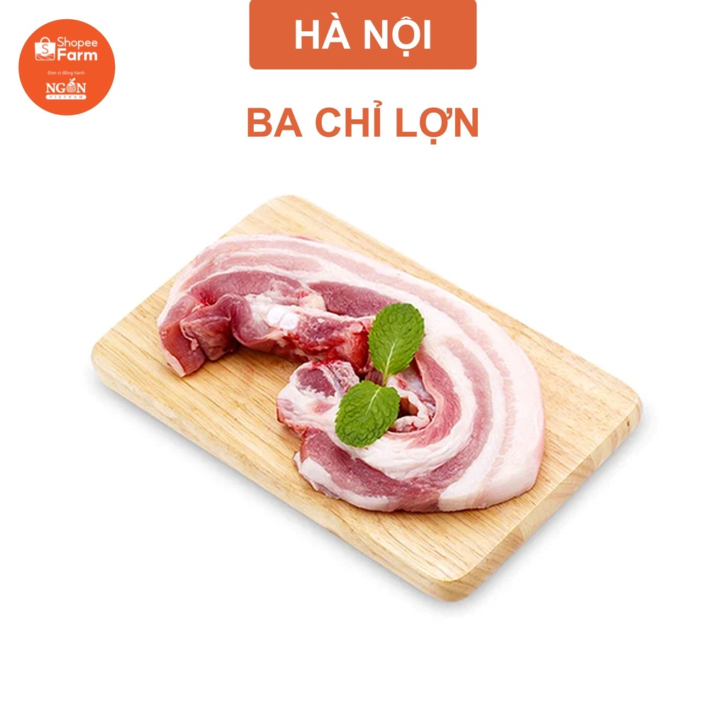 [HN] Thịt Ba Chỉ Lợn Sạch Dinh Dưỡng - Shopeefarm