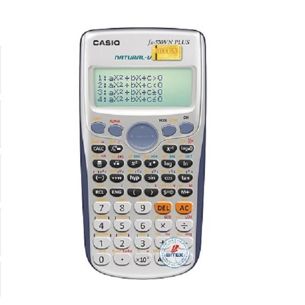 Máy Tính Học Sinh Casio FX 570VN PLUS - 2583683 , 295798132 , 322_295798132 , 475000 , May-Tinh-Hoc-Sinh-Casio-FX-570VN-PLUS-322_295798132 , shopee.vn , Máy Tính Học Sinh Casio FX 570VN PLUS