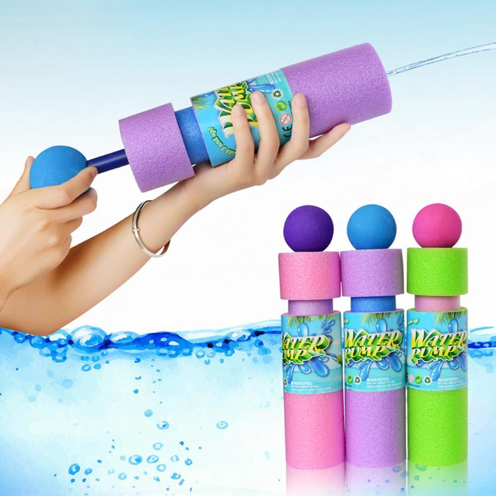 【COD】😺Kid Eliminator Super Soaker Foam Pocket Swimming Water Summer Beach Toys