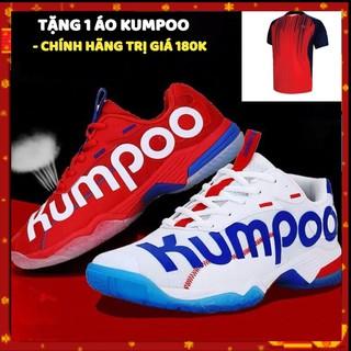 Giày cầu lông Kumpoo A72 trắng êm chân, bền, bảo hành 2 tháng, 1 đổi 1 trong vòng 15 ngày