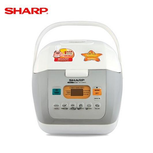 Nồi cơm điện tử Sharp KS-COM18V-W - Dung tích 1.8L
