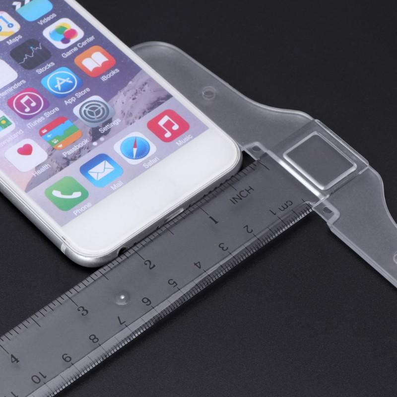 Thước đo chữ T bằng nhựa 2 mặt kích thước 33*15*0.3cm tiện dụng