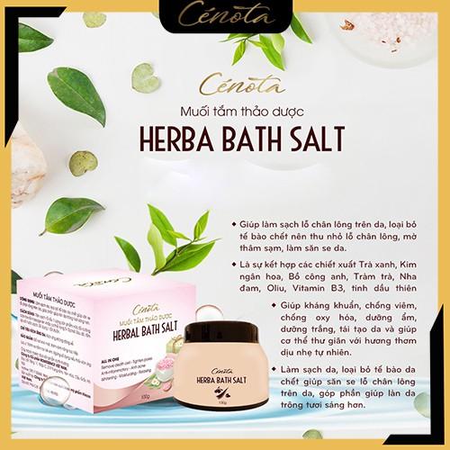 Muối tắm thảo dược tự nhiên, muối tắm làm sạch lỗ chân lông - C02 Shino_cosmetic
