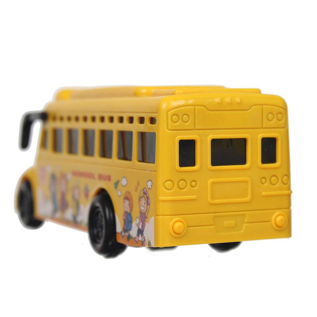 Đồ chơi xe bus trường học có đèn CY.7705