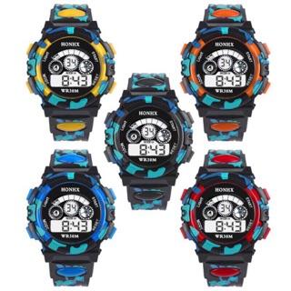 Đồng hồ điện tử kỹ thuật số LED cho bé trai HONHX thumbnail