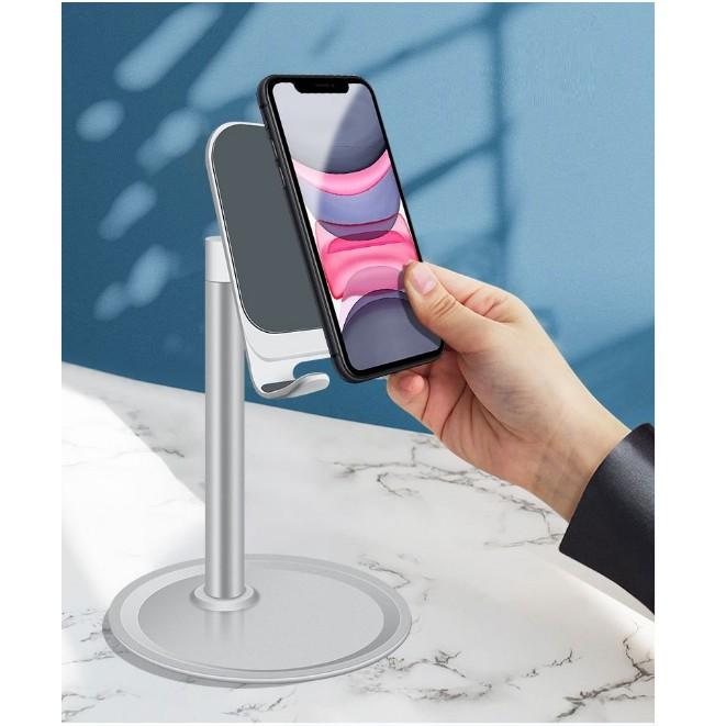 Giá đỡ đế để bàn ph15 cho điện thoại máy tính bảng iphone ipad hợp kim nhôm xoay 360 độ