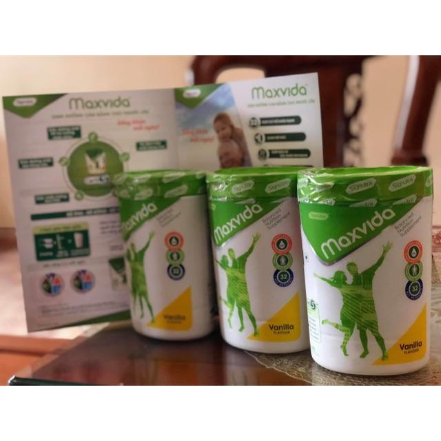 [Thanh ly]Sữa Maxvida GIẢM 73k/lon còn 100.000/h