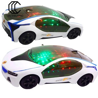 Xe ô tô đồ chơi có đèn led nhấp nháy thú vị chất lượng cao