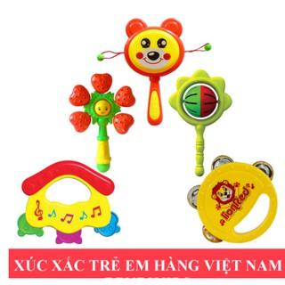 (Hàng Việt Nam) Xúc Xắc Trẻ Em Antona Giúp Bé Phát Triển Thính Giác Và Khả Năng Cầm Nắm