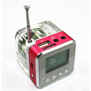 Loa Mini Nizi TT-028 Trong Suốt Có ổ Cắm<br>- ĐHS 5595