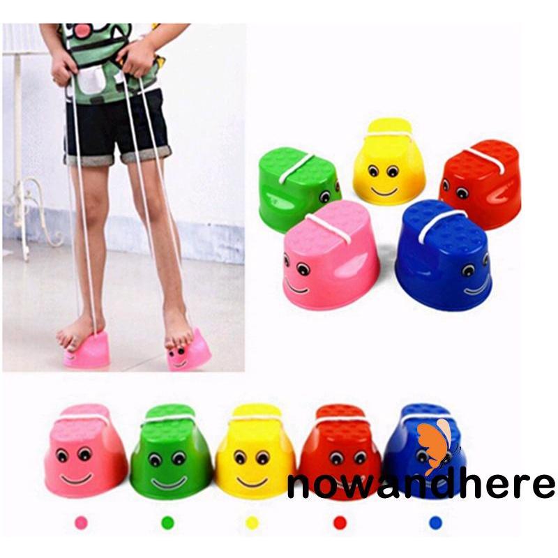 ENN-Hot Fun Jumping Stilts Walker Walk Stilts Jump Outdoor Fun Sports Toys for