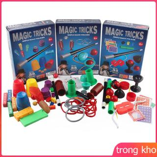 Magic Tricks Set,Magician Show Up Kids Props Toy for Kids with Toy