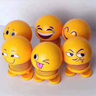 Combo 6 con thú mặt cười nhún siêu dễ thương.