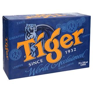 Thùng bia Tiger xuân 24 lon