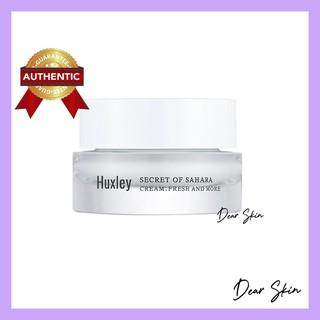 [Chính Hãng][Huxley] Kem Dưỡng Ẩm, Sáng Da Dạng Gel Huxley Cream; Fresh And More 7ml (Mini size) Huxley fresh and more