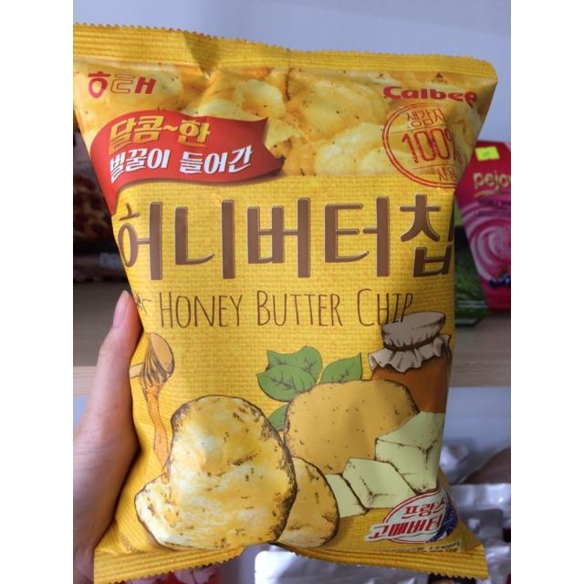 Snack khoai tây bơ mật ong Hàn Quốc
