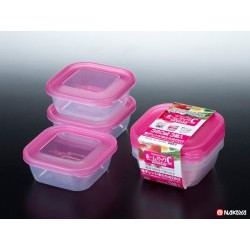 Set 3 hộp nhựa 380ml