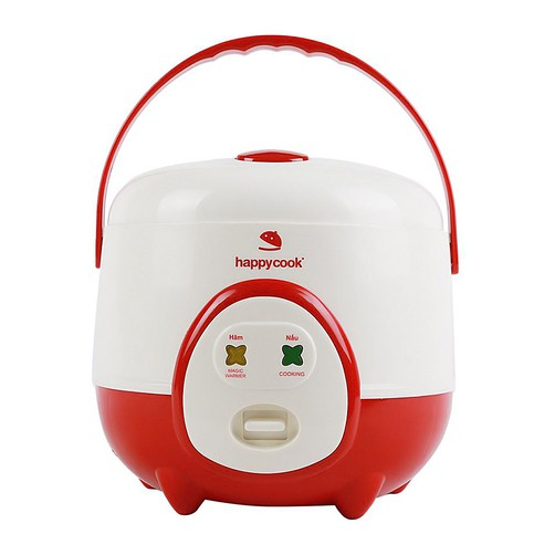 Nồi cơm điện Happycook 0.6 lít HC-060 Đỏ - 2788611 , 1122456340 , 322_1122456340 , 500000 , Noi-com-dien-Happycook-0.6-lit-HC-060-Do-322_1122456340 , shopee.vn , Nồi cơm điện Happycook 0.6 lít HC-060 Đỏ