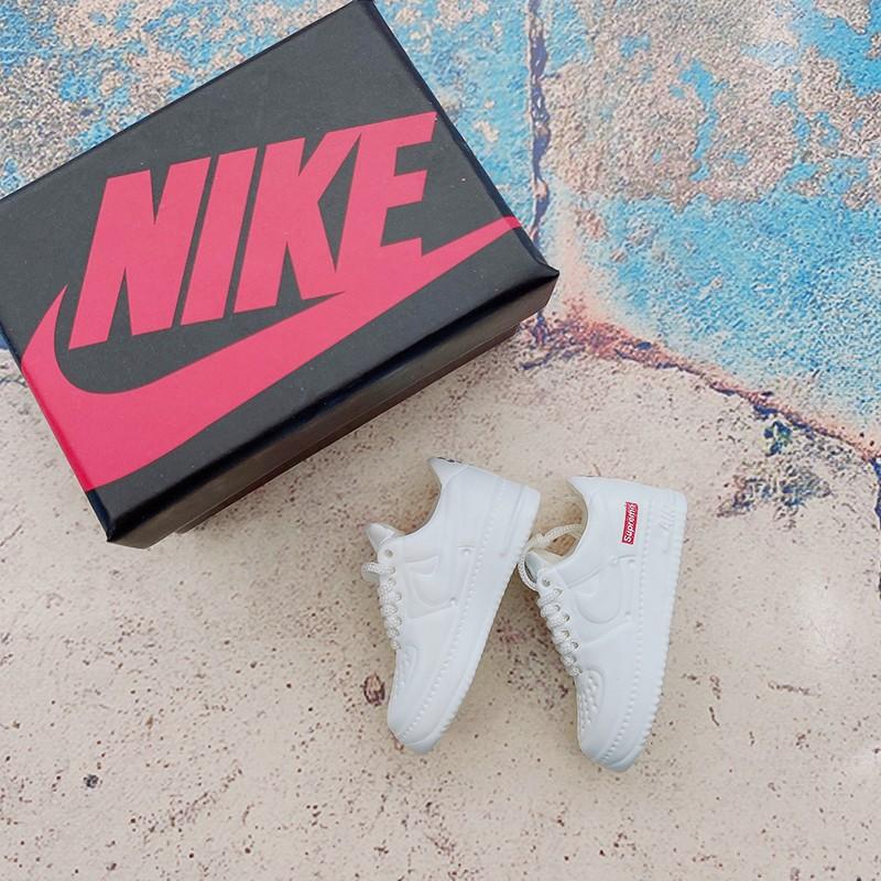 Móc Khóa Giày Sneaker Mini Air Force 1 (Tặng Box)
