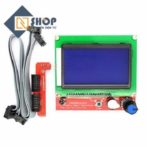 Màn hình LCD 12864 cho máy CNC, in 3D - 3614347 , 982180286 , 322_982180286 , 220000 , Man-hinh-LCD-12864-cho-may-CNC-in-3D-322_982180286 , shopee.vn , Màn hình LCD 12864 cho máy CNC, in 3D