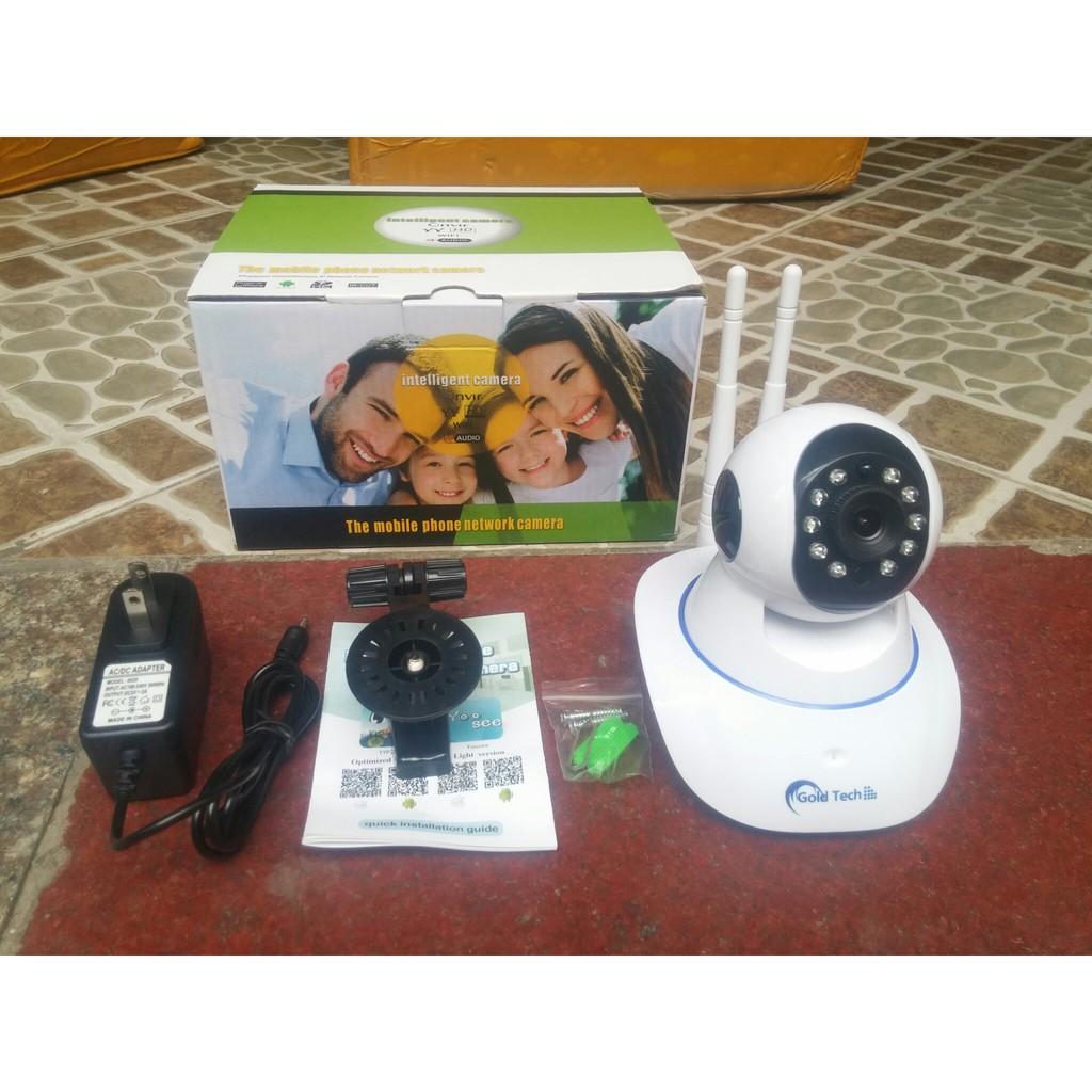 Camera Yosee Wifi 2 Râu Không Dây YS-IPC04S chống trộm báo động