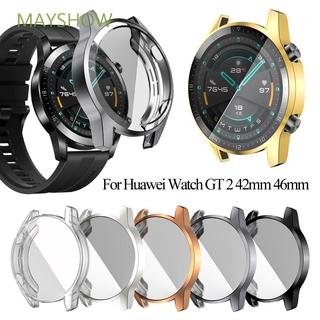 Vỏ Tpu Mềm Mạ Điện Bảo Vệ Màn Hình Đồng Hồ Thể Thao Huawei Watch Gt 2 46mm 42mm
