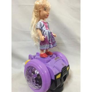 [RẺ NHẤT SHOPEE] 🔥Đồ chơi công chúa elsa xe trượt có đèn phát nhạc