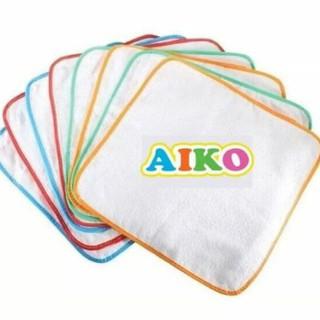 [Mã MKBCS24 giảm 10K đơn 99K] Set 8 tấm lót sơ sinh chống thấm Aiko thumbnail