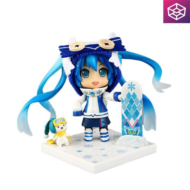 Mô hình nhân vật Nendoroid 570 Vocaloid - Snow Miku: Snow Owl Ver