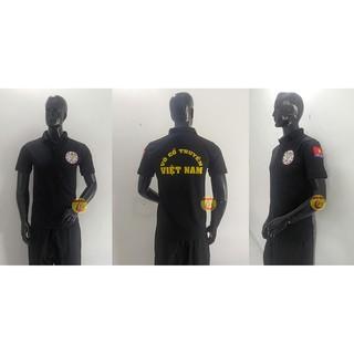 áo thun võ cổ truyền – cổ trụ – trung nghĩa sport