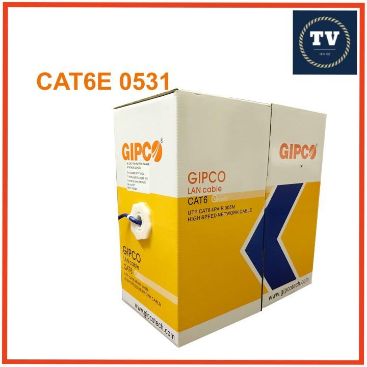 Dây cáp mạng cat6 Gipco 0531