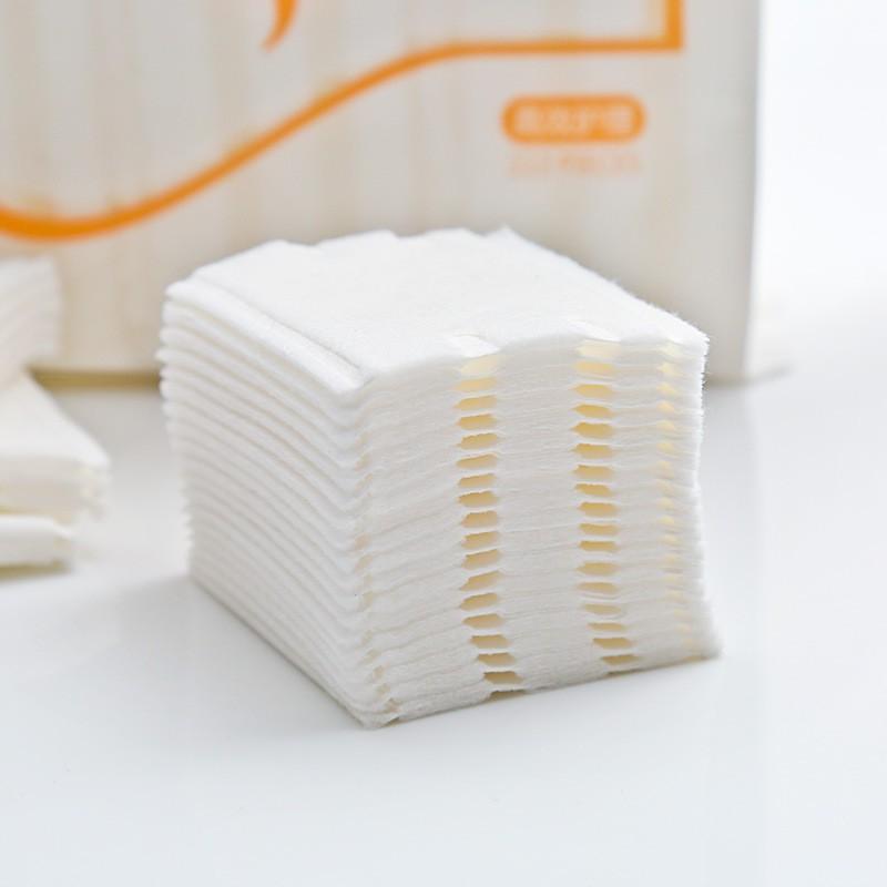 Bông tẩy trang 3 lớp Cotton Pads [Túi 222 miếng] | Shopee Việt Nam