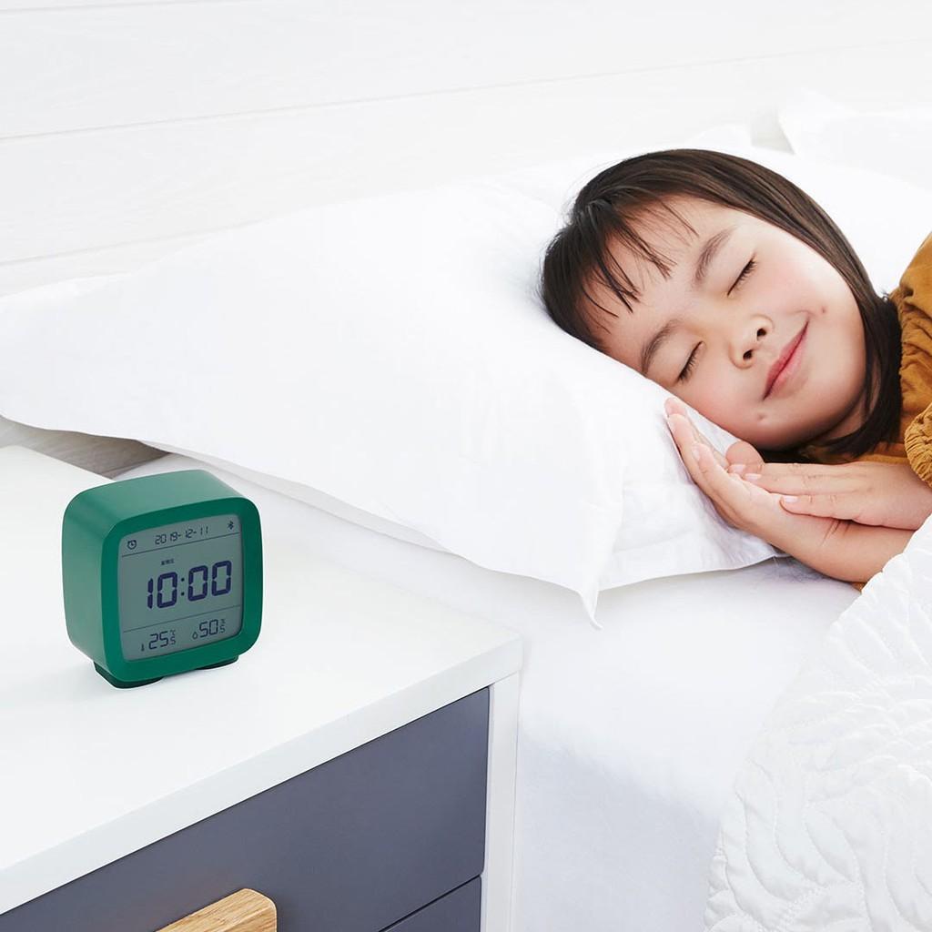 Đồng hồ báo thức tích hợp nhiệt ẩm kế thông minh Qingping CGD1