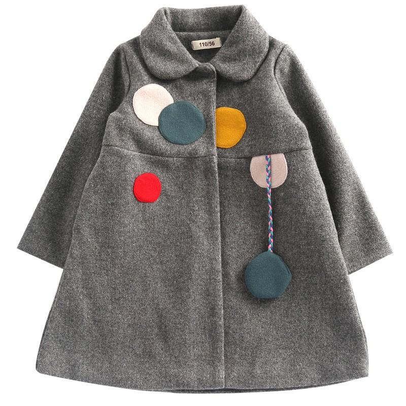 áo khoác dạ quảng châu bé gái
