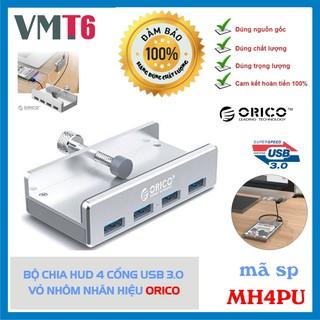 Bộ chia Hub 4 cổng USB 3.0 vỏ nhôm Orico MH4PU - Bảo hành 12 tháng !