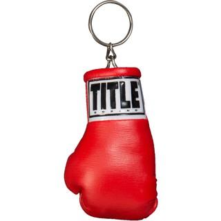 Móc khóa hình găng tay boxing Title