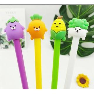 Bút rau củ động vật D283 bút hoạt hình bút dễ thương bút kute viết gel