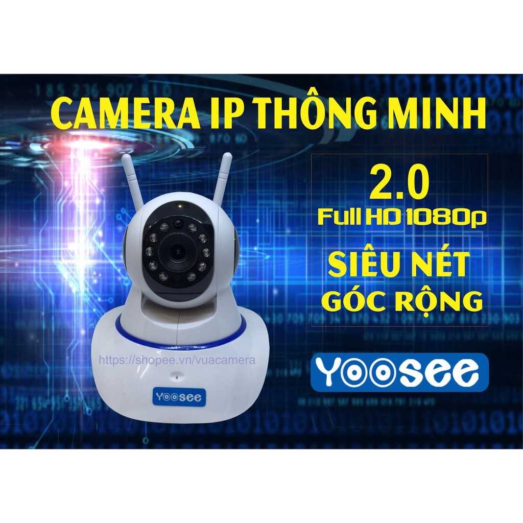 Camera IP YooSee 2.0mpx FHD1080P