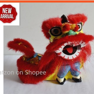 Catzon®1 Pcs Handmade Shaking head Crafts Lion Dance Doll