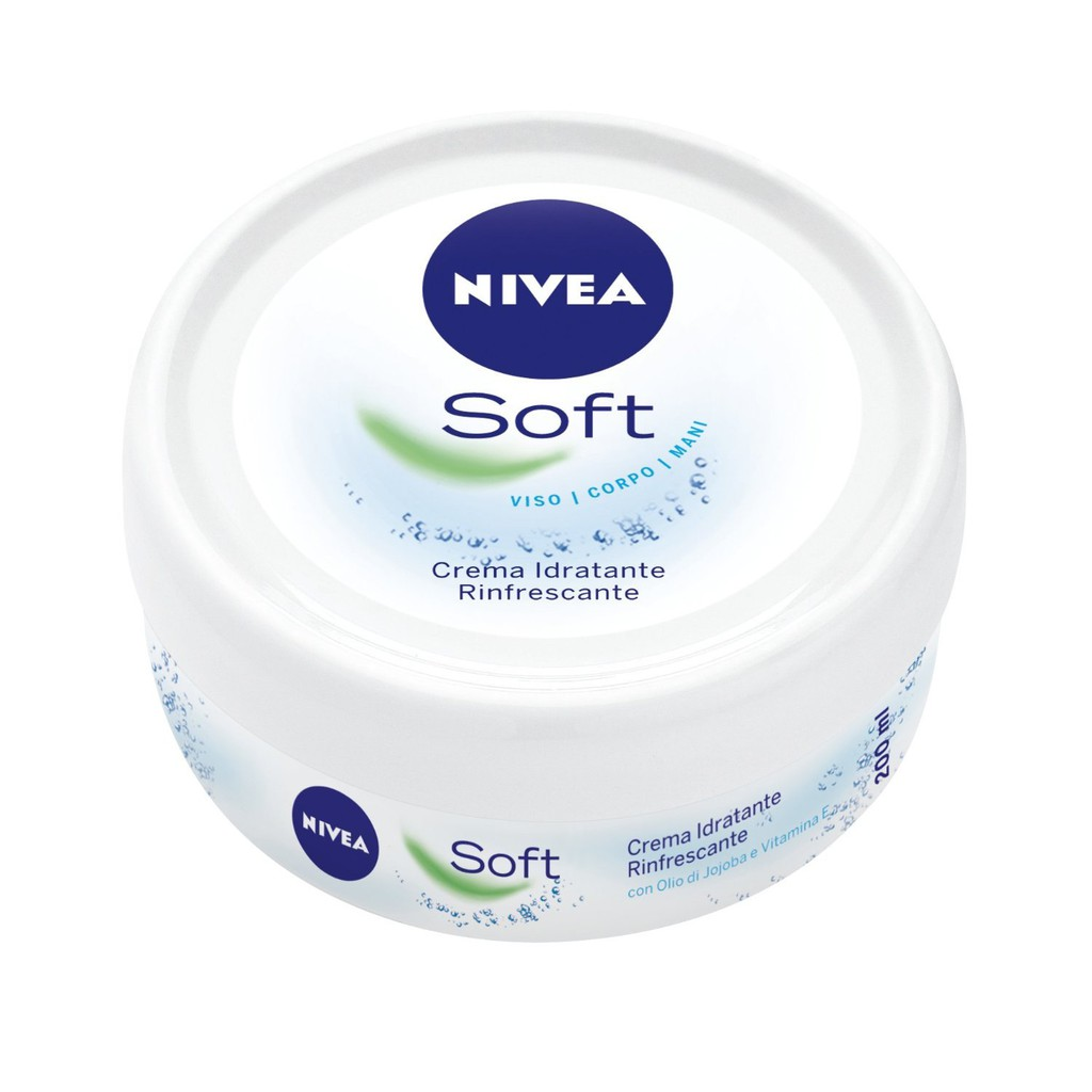 Kem dưỡng ẩm NIVEA SOFT 200ML dưỡng ẩm trắng da nivea ttshop